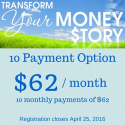 Transform Your Money Story [10 pmnt option]
