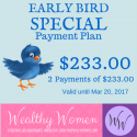 Wealthy Women Early Bird [2 Payment Option]