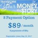 Transform Your Money Story [8 payment option]