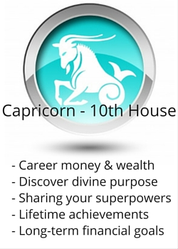 Capricorn 10th House