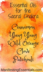 Essential Oilsfor the Sacral Chakra