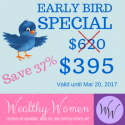 Wealthy Women Early Bird [1 payment option]